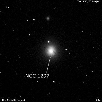 Galaxy NGC 1297 - Barred Lenticular Galaxy in Eridanus Constellation · Deep  Sky Objects Browser