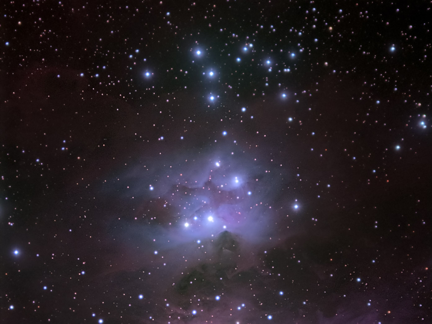 Open Cluster Ngc 1981 Galaxy In Orion Constellation