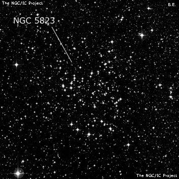 Open cluster NGC 5823 - Open C...